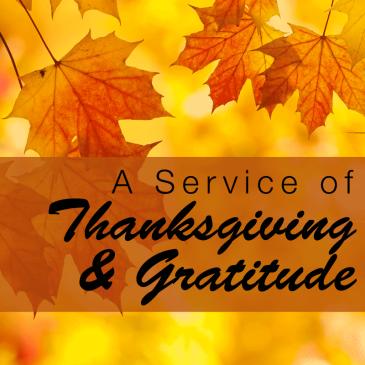 thanksgivingService